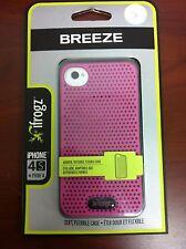 IFROGZ Breeze Apple iPhone 4/4s case cover Pink/Black IP4BRZ-PNK/BLK