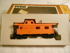 Ho Train Vintage Tyco 8 Wheel Caboose Union Pacific Up New Ready-To-Run!