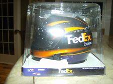 Denny Hamlin 1:3 Scale Nascar # 11 Replica Mini Racing Helmet FedEx Express