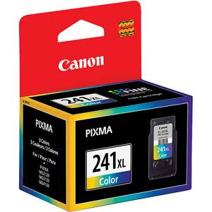 Canon MX512 CL-241 XL ink MG2120 MG3120 MG4120 MX372 MX432 MX439