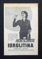C716 - Advertising Pubblicità- 1953 - IDROLITINA SUPERLITIOSA DIURETICA