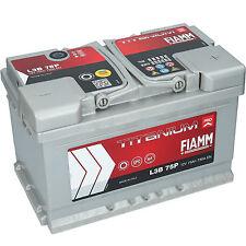 Autobatterie FIAMM TITANIUM PRO 12V 75Ah 730A/EN PREMIUM BATTERIE