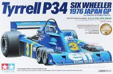 Tamiya 20058 1/20 Scale Model Formula One Car Kit Tyrrell P34 1976 Six-Wheeler