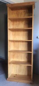 Timber bookshelf - pickup