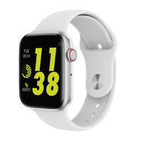 Smartwatch W34 Bluetooth Uhr Curved Display Android iOS Samsung iPhone Huawei LG