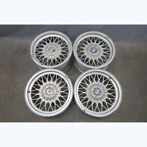 1977-2001 BMW E28 E34 E24 Factory Style 5 16x8 Cross-Spoke Basketweave Wheel OEM