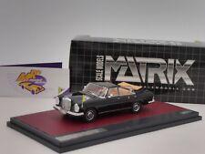Matrix MX41302-061 # Mercedes Benz 300 SEL Landauletta Vatican City open 1:43