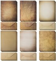 60 Sheets of Antique Looking Papers & 60 Antique Style Envelopes -Classic Aged P