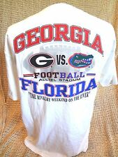 Georgia Bulldogs vs Florida Gators RIVALRY WEEKEND T-Shirt Size LARGE~NEW w TAG