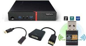 Lenovo ThinkCentre M910q USFF Tiny, i5-6500T, 8GB RAM, 256GB SSD, HDMI, Win10Pro