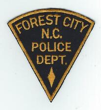 VINTAGE FOREST CITY, NORTH CAROLINA POLICE  (CHEESE CLOTH BACK)patch