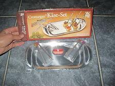 Neues WMF Cromargan Käse-Set 70er/ 80er Jahre Kleines Serviertablett /Vorspeise