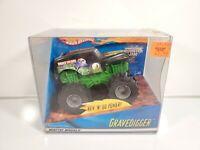 Hot Wheels Monster Truck Grave Digger Rev n' Go 2001 Brand New NIB