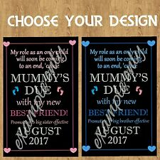 birth announcement pregnancy baby personalised photo gift nursery wall art