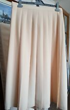 Kaleidoscope Buttermilk Pleated Skirt size 16 (AV12-3)