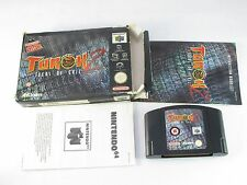 Nintendo N64 Turok 2 Seeds Of Evil Boxed Game PAL V2