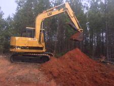 Caterpillar E70B excavator with thumb.