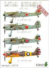 Karaya Models Decals 1/72 CAPTURED BUTCHERBIRDS Fw-190 Fighters Part 6