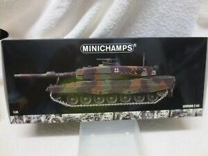 LEOPARD 2 A4 PANZER BATALLION 93 MUNSTER NATO GERMAN TANK MINICHAMPS 1:35 SCALE