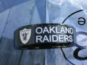 Raiders Team Titanium Ring, several styles, your choice