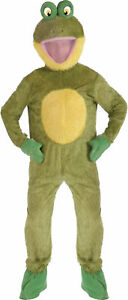 FROG MASCOT ADULT MENS COSTUME Nature Animal Funny Theme Party Cute Halloween
