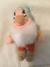 Disney Snow White & 7 Dwarfs Happy or Bashfull Beanbag Plush Toy