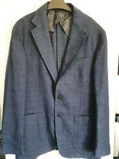 POLO RALPH LAUREN Wool/Linen Blend Sports Jacket/Blazer-Navy Size 40R