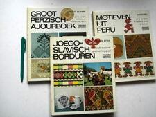 3 x ARIADNE Handwerkbibl.: JOEGOSLAVISCH borduren +PERZISCH AJOUR +Motieven PERU