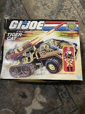 Vintage G.I Joe Tiger Force Tiger Cat Assault Truck Toy Vehicle W Box Figure GI