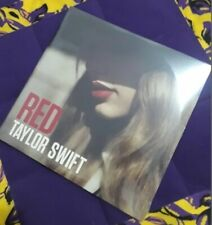 """Taylor Swift Rare Limited Edition Red Vinyl 2LP 2012 """"Red"""" NEW"""