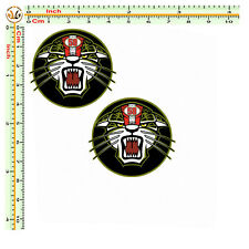 Marco simoncelli tondo tigre sticker adesivi auto moto casco print pvc 2 pz.