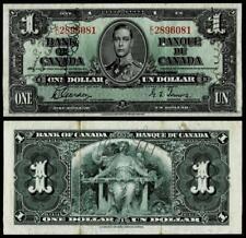 1937 $1 DOLLAR BANKNOTE BANK OF CANADA