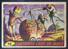 A&BC-MARS ATTACKS 1965-#48- EARTHMEN LANDED ON MARS