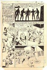 World's Finest Comics #313 p.3 - Super Speed - 1985 art by Stan Woch Comic Art
