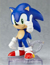 Anime Sonic The Hedgehog Nendoroid Series Boxed PVC Action Figure Toy 4''