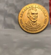 1992 SHELL PRESIDENTIAL COLLECTOR COINS. - Abraham Abe Lincoln