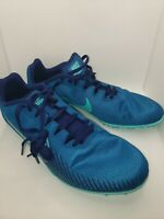 Nike Zoom Rival M 9 Size 9 Men 10.5 WMNS Green Abyss/Hyper Jade