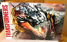 SDCC COMIC CON 2014 HASBRO TRANSFORMERS DINOBOTS 4 FIGURES SET BOX + HUGE GIFT