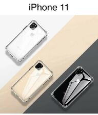 iPhone 11 Clear Case Shockproof Soft Rubber Bumper Cover Ship From Canada!