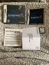 Nintendo Ds Game Final Fantasy Tactics A2 Grimoire Of The Rift Cib Complete