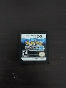 Pokemon Black 2 Version (Nintendo DS) Authentic Cartridge Only Tested