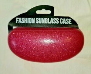 Fashion Sunglass Case Pink Glitter, Mermaid, Black Glitter - Eye Glass Case New!