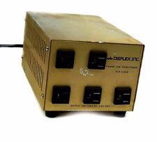 Displex PLR5102D Line Conditioner 120/220V 2.5Amp 105-125VAC Output. TESTED!