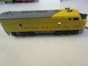 h o trains: A very good running MANTUA/TYCO--UNION PACIFIC F7 A unit road diesel