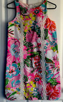 New Lilly Pulitzer for Target Women's Nosey Posie Shift Dress Size 12