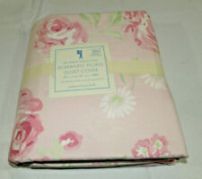 New Pottery Barn Kids Amy ROMANTIC FLORAL Organic Full/Queen Duvet Shabby Chic
