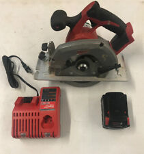Milwaukee 2630-20 M18 18V Li-Ion  6-1/2 in.  Circular Saw  + Battery & Charger