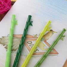 12Pcs Cute Funny Cartoon Bamboo ballpoint Kawaii Stationery ball pens Write gift