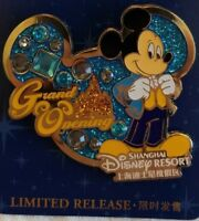 NEW Disney Parks Shanghai China Grand Opening Mickey Mouse Pin#121349 JEWELED
