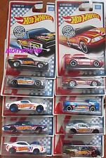 HOT WHEELS 2017 RACING CIRCUIT COMPLETE SET OF 10 PONTIAC BUICK DEORA FORD